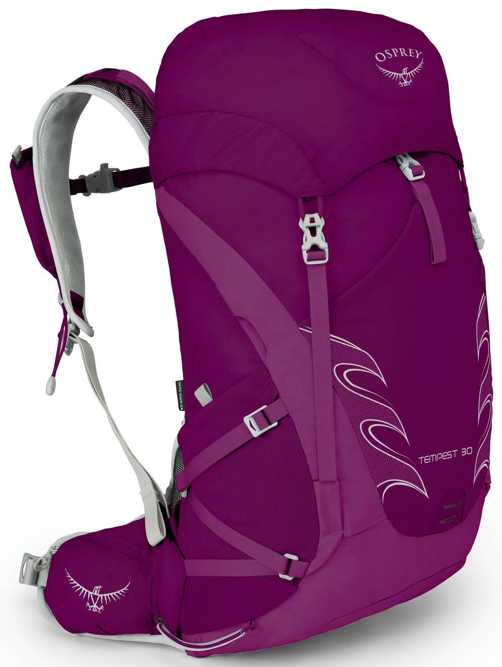 Osprey Tempest 16 Womens Rucksack Hiking Backpack Mystic Magenta One Size